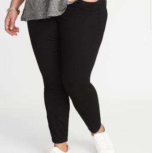Old Navy Black Skinny Ankle Jeans